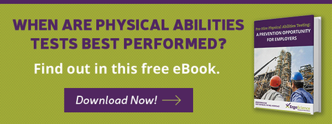 When are Physical abilities test best performed